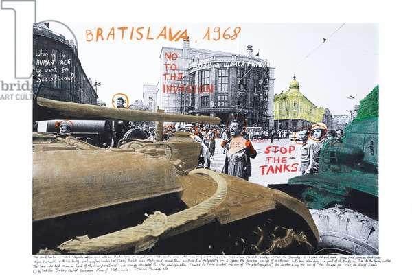 Bratislava, 1968, 2014-18 (ink pigment print on Hahnemühle paper)