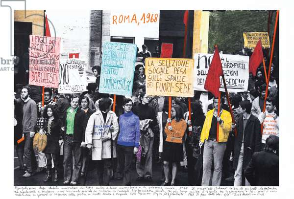 Roma, 1968, 2014-18 (ink pigment print on Hahnemühle paper)