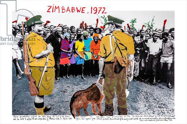 Zimbabwe II, 1972, 2018 (inkjet print on Hahnemühle paper)
