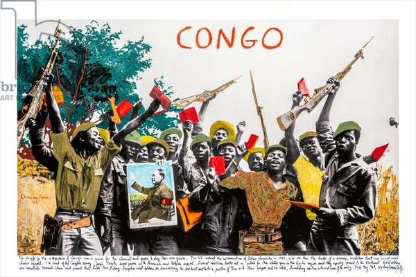 Congo, 1968, 2018 (inkjet print on Hahnemühle paper)