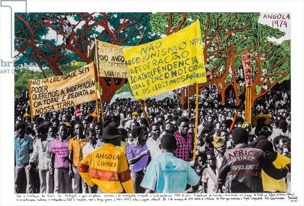 Angola, 1974, 2018 (inkjet print on Hahnemühle paper)