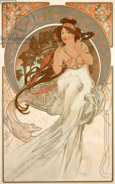 The Arts: Music, 1898 (colour litho)