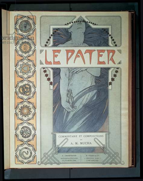 Front cover of Le Pater, 1899 (colour litho)