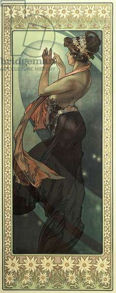 The Moon and the Stars: Pole Star, 1902 (colour litho)