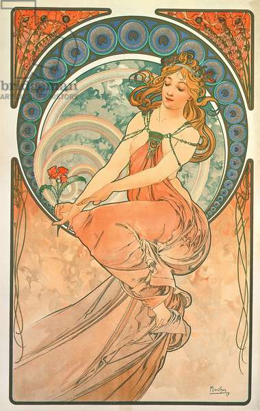 The Arts: Painting, 1898 (colour litho)