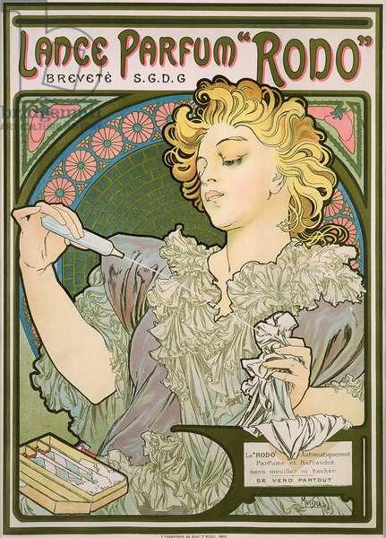 Poster advertising Lance Parfum 'Rodo', 1896 (colour litho)