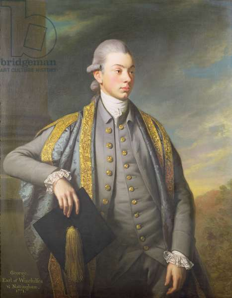 George, 9th Earl of Winchilsea and Nottingham (1752-1826), 1771 (oil on canvas)