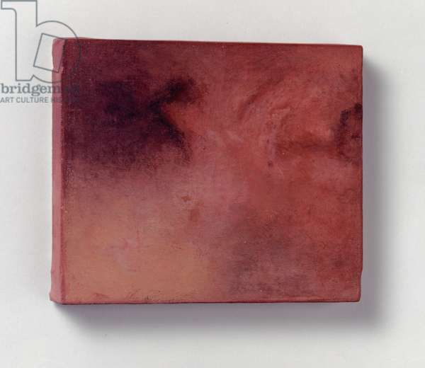 Untitled Wound, 1990-91 (oil on calico)