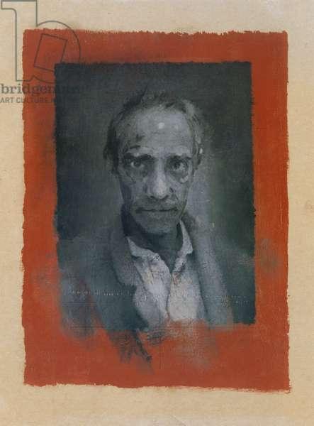 Derek Jarman ('Seer') 1993 (oil on card)