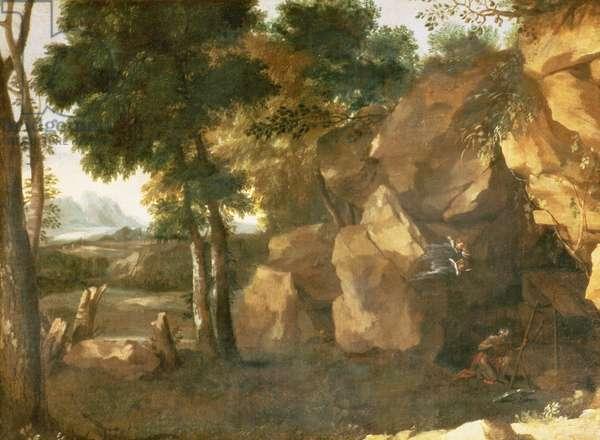 St. Jerome (oil on canvas)