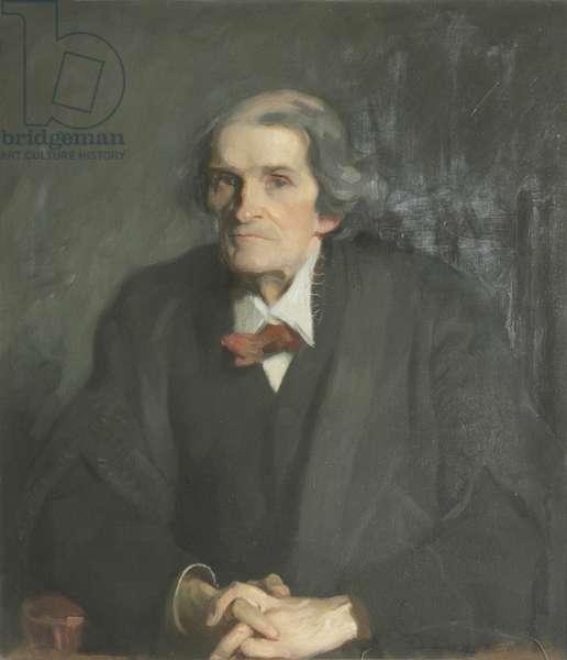 Sir John Burdon-Sanderson (oil on canvas)