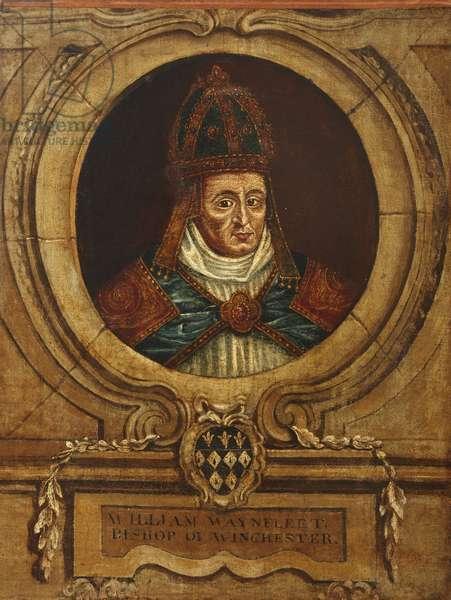William of Waynflete, Bishop of Winchester (oil on canvas)