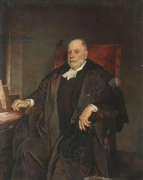 Sir Thomas Herbert Warren, President of Magdalen College (oil on canvas)