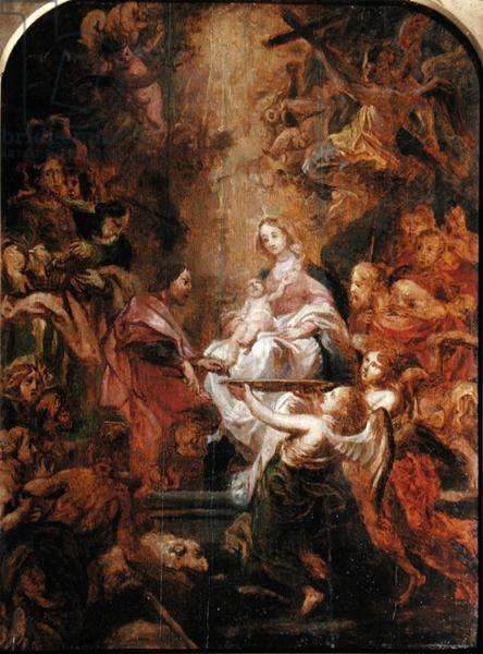 Circumcision of Christ (oil on panel)
