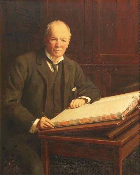 Richard Gunstone (oil on canvas)