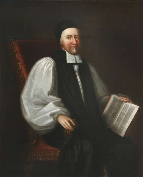 Accepted Frewen, President of Magdalen College and Archbishop of York (oil on canvas)
