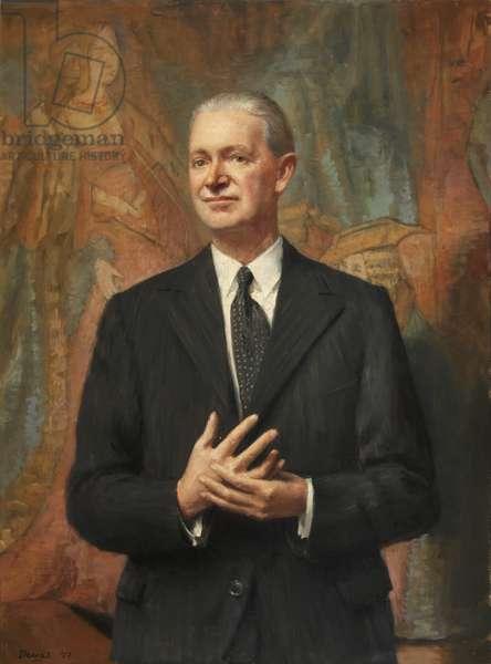 Thomas Sherrer Ross Boase, President of Magdalen College (oil on canvas)