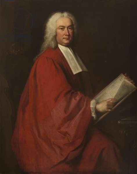 Sir Edmund Isham (oil on canvas)