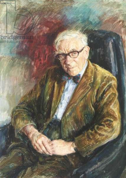 Alan John Percivale Taylor (oil on canvas)