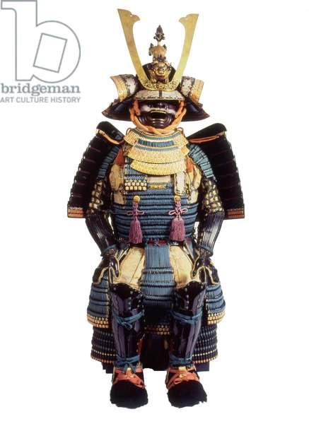 Ceremonial suit of armour for a samurai, Edo Period (mixed media)