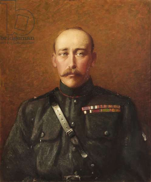 Prince Christian Victor of Schleswig-Holstein (oil on canvas)