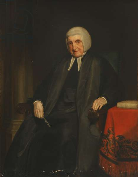 Martin Joseph Routh, President of Magdalen College (oil on canvas)