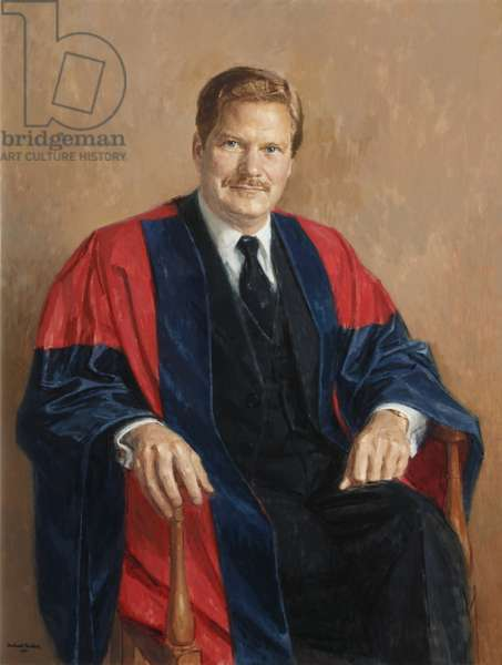 Keith Broadwell Griffin, President of Magdalen College (oil on canvas)