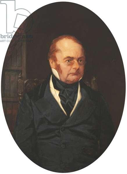 Charles Giles Bridle Daubeny (oil on canvas)