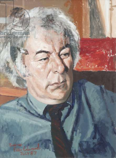 Seamus Heaney, 1987 (oil on canvas)