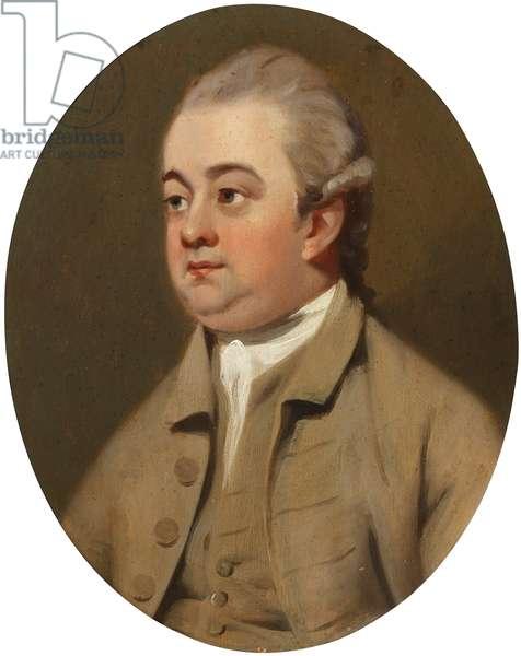 Edward Gibbon (oil on canvas)