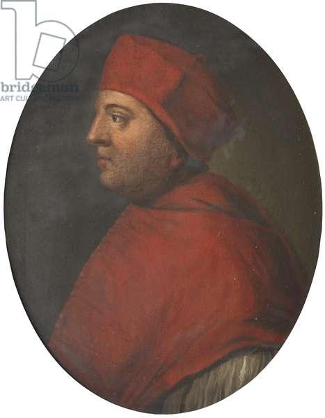 Cardinal Thomas Wolsey (oil on canvas)