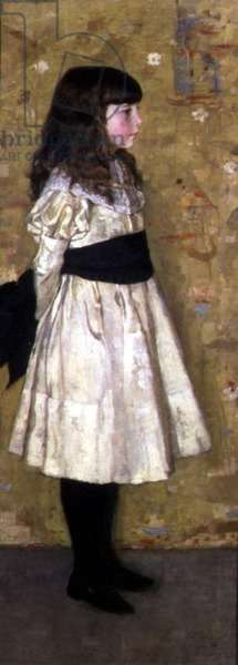 Miss Helen Sowerby, 1882 (oil on canvas)