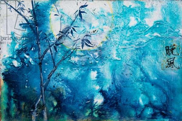 Bamboo Moon, 2011 (acrylic on canvas)