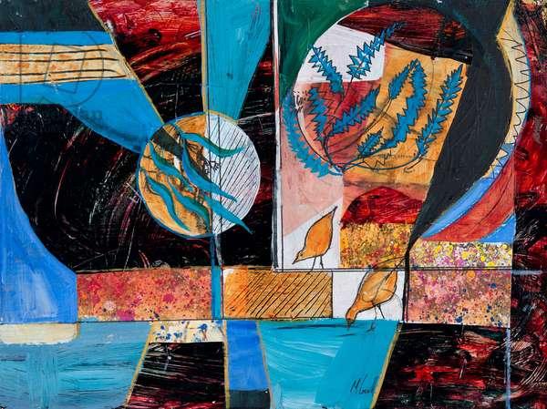 Kaleidoscope, 2011 (acrylic on canvas)