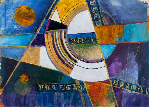 Spatial Navigation, 2011 (acrylic on canvas)