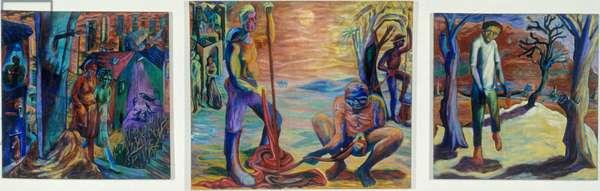 The Witnesses, 1991 (oil on linen)