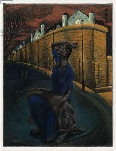 Pieta , 1999 (oil on linen)