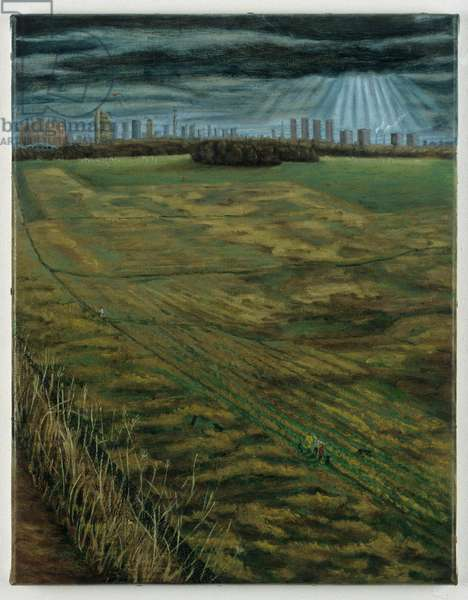 The Third Day, 1999 (oil on linen)