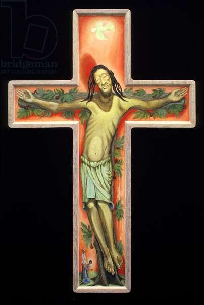 Christus, 2001 (oil on wood)