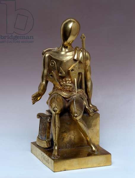 Orpheus Exemplary 3/9 (Orfeo esemplare 3/9), by Giorgio De Chirico, 1970, 20th century (brass)