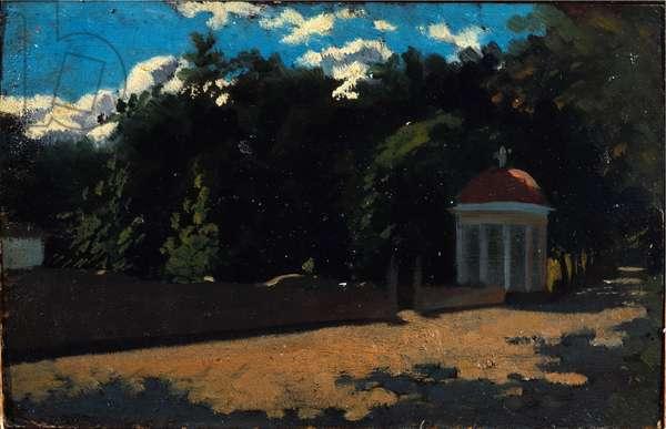 Small Dome, Cascine, 1861 (oil on canvas)