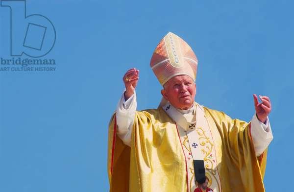 Pope John Paul II, Zakopane, Poland, 1997 (photo)