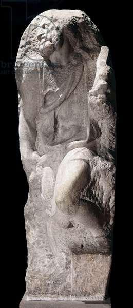 Saint Matew, by Michelange Buonarroti, 1503 - 1505, 16th Century, marble
