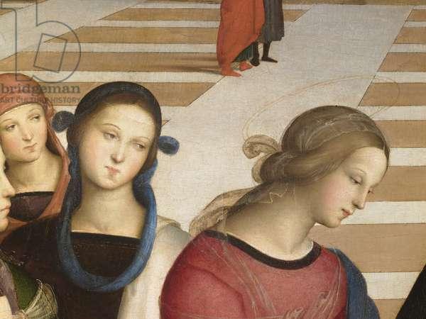 The marriage of the virgin (Sposalizio della Vergine), by Sanzio Raffaello, 1504, 16th Century, oil on board, 170 x 118 cm