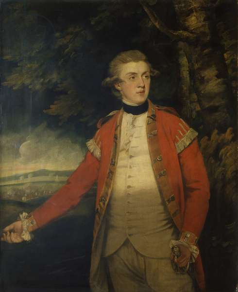 Portrait of Lord Donoughmore, by Joshua Reynolds, 18th century, oil on canvas.