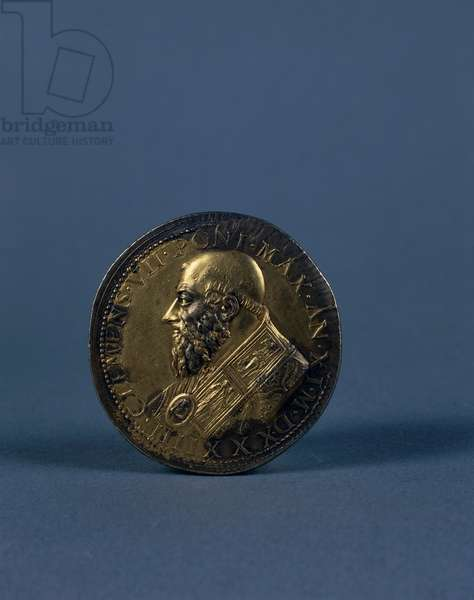 Medal of Pope Clement VII, 1534 (gilded bronze)