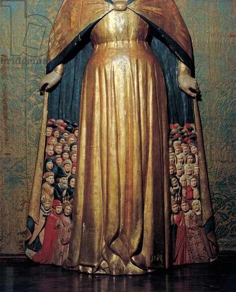 Madonna of Mercy, (polychrome wood)