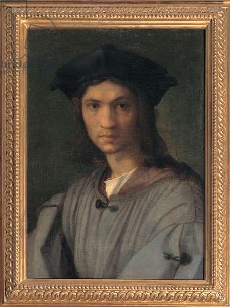 Presumed Portrait of Baccio Bandinelli (or Self-portrait), 1513 - 1515 (panel)