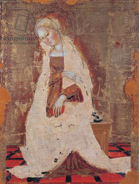 Annunciation, 1469 (tempera and oil on panel)