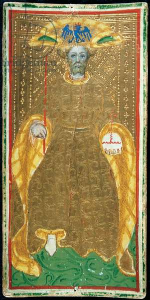The Emperor, Tarot Cards, 1420 - 1477 (paper)